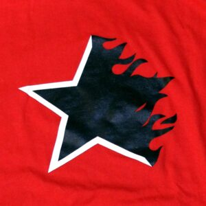 """Flaming Star"" Shirt (red)"
