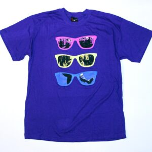 """Shades"" T-Shirt (purple)"