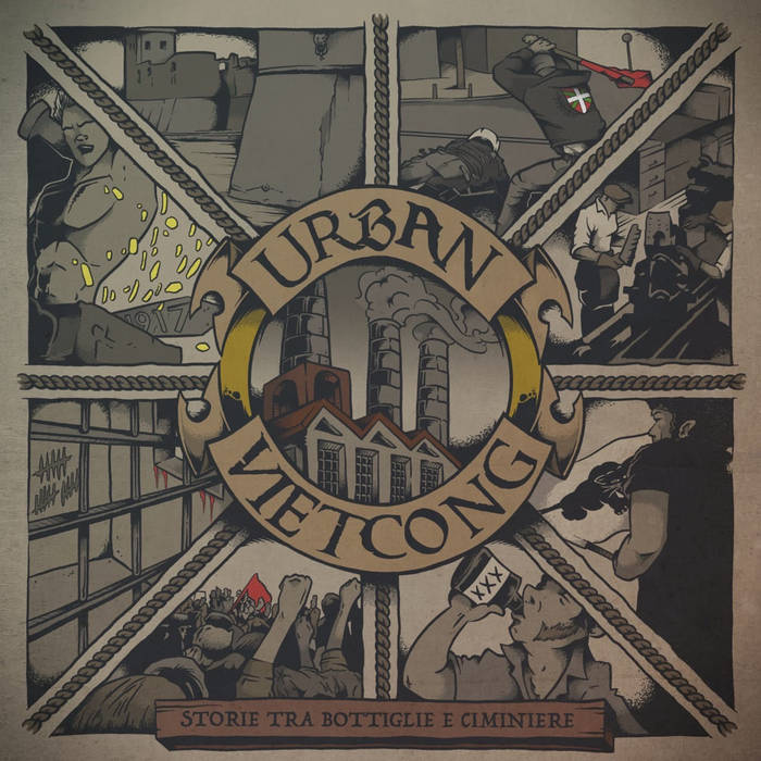 [FFM061 OUT NOW] Urban Vietcong – Storie tra bottiglie e ciminiere LP+CD