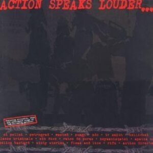 V/A – Action speaks louder than words LP