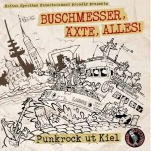 V/A – Buschmesser, Äxte, Alles! Punkrock ut Kiel LP