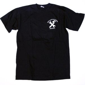 """Esclaves Salariés """"Montréal"""" T-Shirt (schwarz)"""