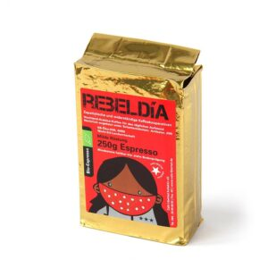 Bio-Espresso Las Chonas mild roast 250g ground (Kopie)
