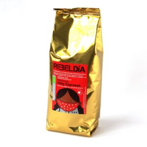 Bio-Espresso Rebeldia milde Röst. 500g ganze Bohne