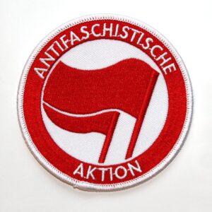 Antifaschistische Aktion – Aufnäher (rot/rot)