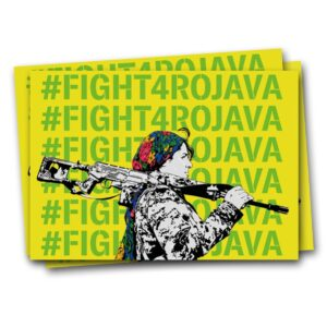 #Fight4Rojava – Sticker