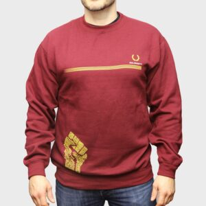 """Solidarity"" Sweatshirt (bordeaux)"