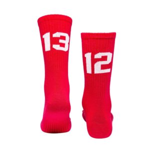 Socks 1312 (red/white)