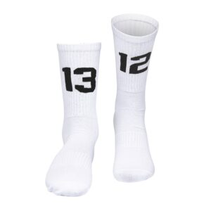Socks 1312 (white/black)