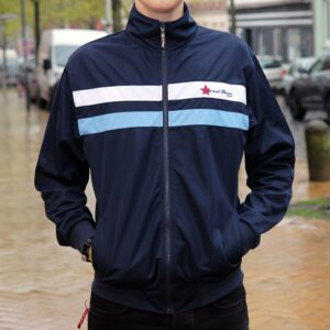 """Retro Blue"" Trainingsjacke"