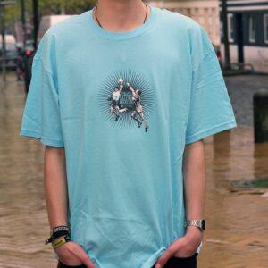 """""""Venganza Latinoamericana"""" Shirt (blue)"""