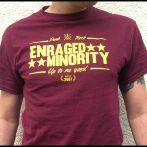 "Enraged Minority ""Casual Burgundy"" T-Shirt"