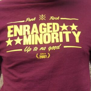 "Enraged Minority ""Casual Burgundy"" Tailliertes Shirt"