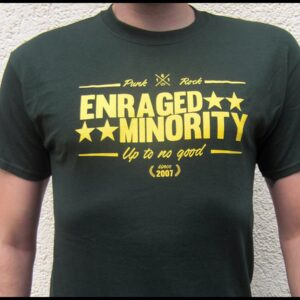 "Enraged Minority ""Casual Green"" T-Shirt"