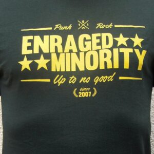 "Enraged Minority ""Casual Green"" Tailliertes Shirt"