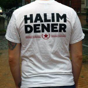 """Soli-Shirt """"Halim Dener"""" (white)"""