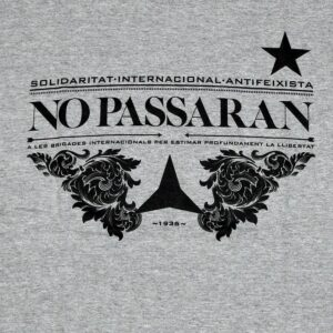 "Partisano ""No Passaran!"" T-Shirt"