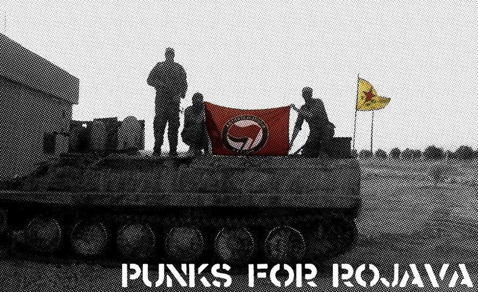 Punks for Rojava!