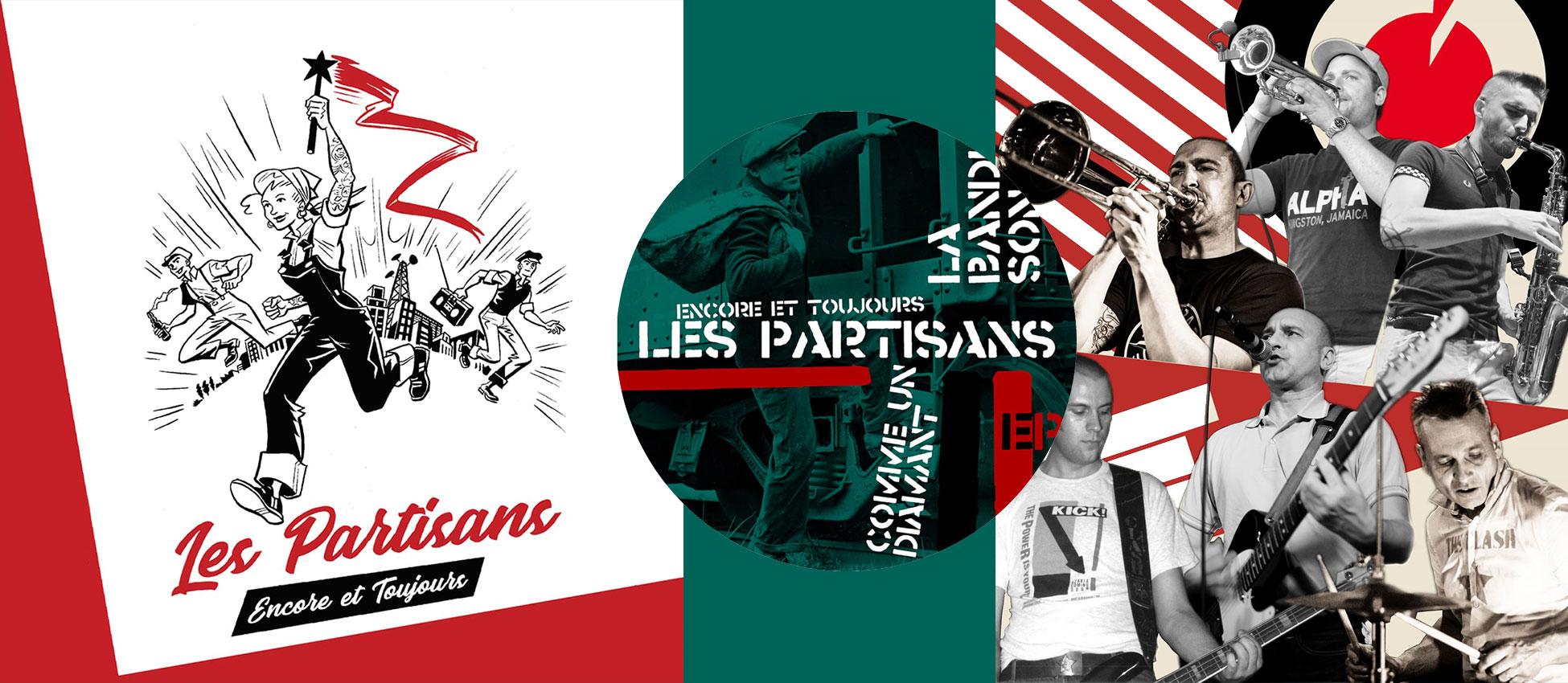 [FFM069] Les Partisans – Encore et Toujours Pic.-7″